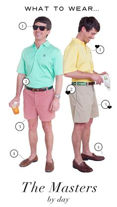 How to dress for the Masters Tournament in Augusta, Georgia.
