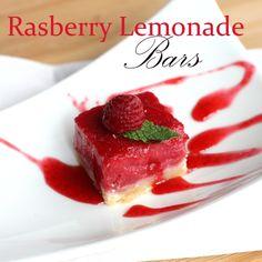 Raspberry Lemonade Bars by Everyday Art #raspberry #dessert #recipe