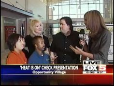 Chuck Brennan, CEO of Dollar Loan Center on Fox 5 in Las Vegas talking about the Heat Is On promotion which gave $15,000 to Opportunity Village, a non-profit organization that serves people with intellectual disabilities.