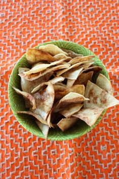 Recipe for homemade tortilla chips
