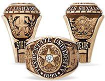 Texas State Ring Balfour