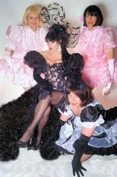 Madam Raison Detre and her sissy maids