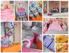 Divis-licious: ¡Una Fiesta! {4th Birthday Dora Party}