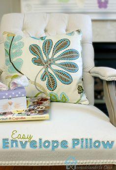 Remodelando la Casa: Easy Envelope Pillows
