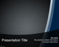 Mission PowerPoint template is a free metal template with metal texture in the background that you can use as a generic or abstract PowerPoint presentation