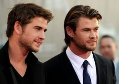 Chris and Liam Hemsworth!