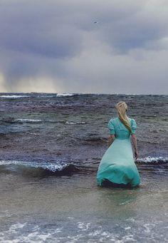 The sea....