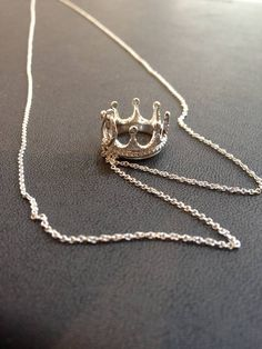 My Tiffany  Co. crown pendant/necklace.