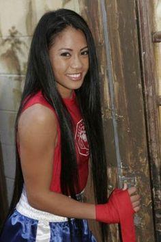 Ana Julaton - Female Boxer and MMA Fighter