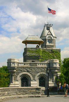 Belvedere Castle, Central Park, New York.