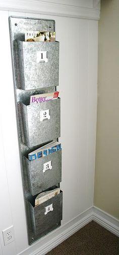 Magazine clutter no more