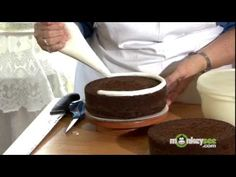 I learned so much from this video on how to make and decorate cakes.