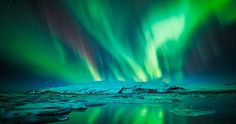 stunning! #timelapse #northernlights