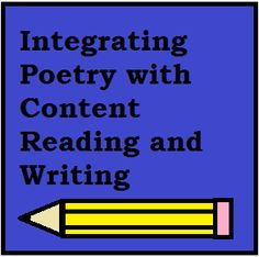 All Things Upper Elementary -- How I integrate poetry with content reading and writing.  Free curriculum example