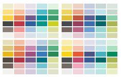 Sun Colors color chart, color togeth, sun color