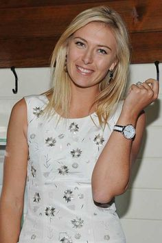 Maria Sharapova spotted at A Beautiful Rebels dinner