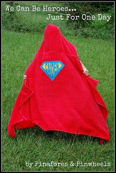 Superhero Towel 4 by Pinafores & Pinwheels, via Flickr