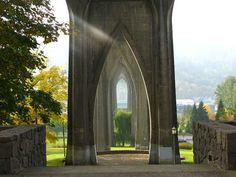 Cathedral Park St Johns Bridge - Portland Oregon