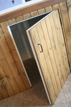 small secret door connecting kids rooms