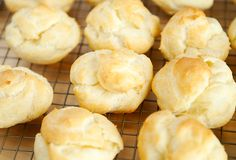 chicken salad puffs recipes | use real butter