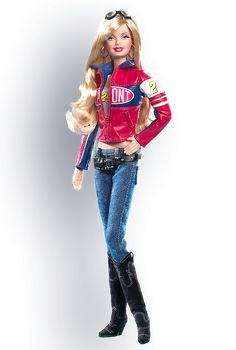 No longer available via Barbie.com but here's a picture of its 2006 NASCAR special edition doll: Jeff Gordon® NASCAR® Barbie® Doll #nascar