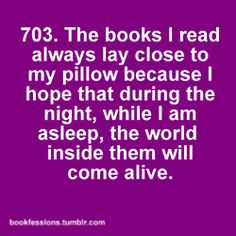 Bookfession 703. Sleeping with the books beside.  #Bookfession, #Bookfessions