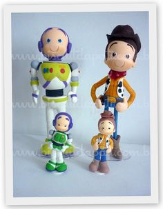Buzz and Woody Toppers