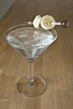 Banana Split ~   1 shot vanilla vodka  1/2 shot banana liqueur  1/2 shot creme de cacao