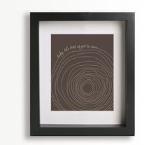 Someone Like You / Van Morrison - Music Lyric Art Print - wedding gift idea, wedding sign, wall art, wall decor, tree, tree trunk. $19.95, via Etsy.