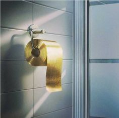 22-carat gold toilet paper for just US$1,376,900 per roll