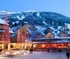 Whistler, BC - one of my all-time favorite vacation spots!