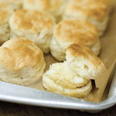 Buttermilk Biscuits | This versatile biscuit recipe only takes five ingredients to make.