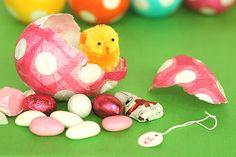 Paper easter eggs!!