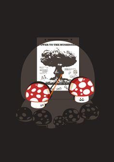 Power to the Mushroom  by Budi Satria Kwan