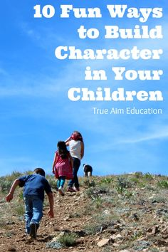 10 Enjoyable Character Building Activities for Kids including cooking, crafting, and more!