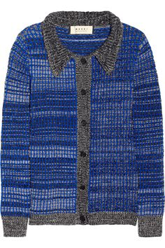 Marni Wool and cashmere-blend cardigan NET-A-PORTER.COM