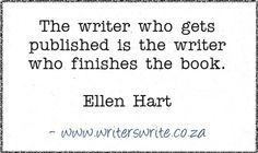 Quotable - Ellen Hart - Writers Write Creative Blog