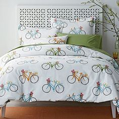 Spring Ride Percale Bedding