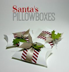 Even more of Santa's Pillowboxes