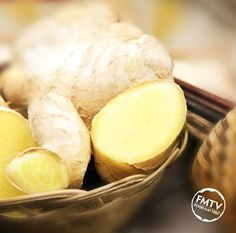 Ginger stimulates digestion by speeding up the movement of food from the stomach into the small intestine www.FMTV.com