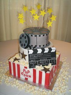 wedding cake ideas on Pinterest Movie Theme Cake ...