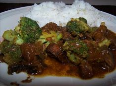 Crock Pot Beef and Broccoli from Food.com:   South Beach Diet All Phases