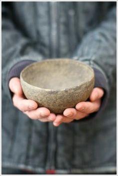 人の手のようなの画像:なづな雑記  ceramica japonesa