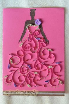 Yet again a very lovely quilled art!