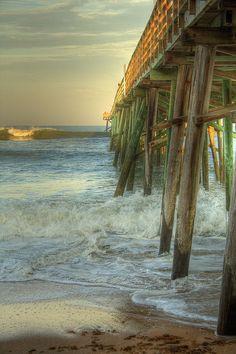 Flagler Beach Pier, St Augustine, Florida