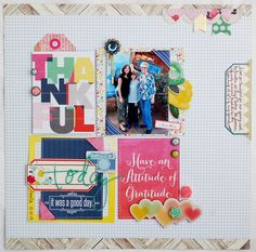 Using Life Pages Cards on Scrapbook Layouts | via Gossamer Blue