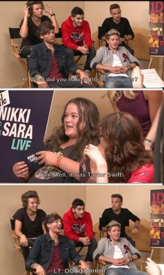 I advise you to take a moment and look at each boys' reaction individually because its gold....