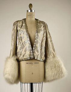 Jacket, Evening  House of Worth        1930–32