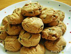 Peng's Kitchen: Chocolate Peanut Cookies