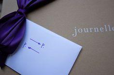 Purple ribbon for favors